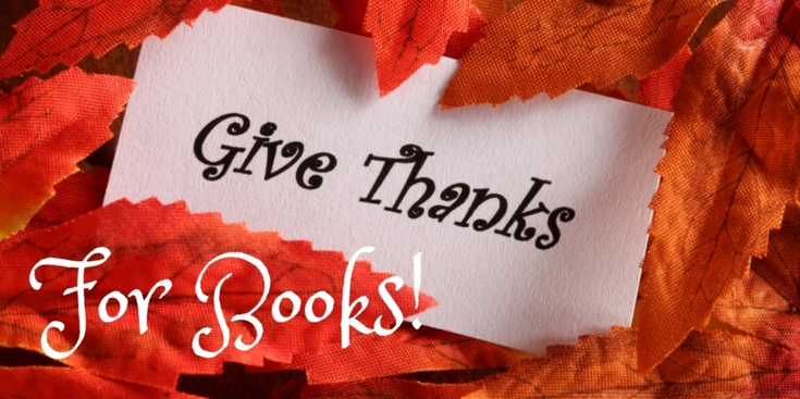 Thankful for books and book friends! The Book Club Blogger