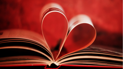 Book quotes for Valentine's Day on The Book Club Blogger