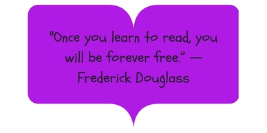 Frederick Douglas quote on booknparty.com