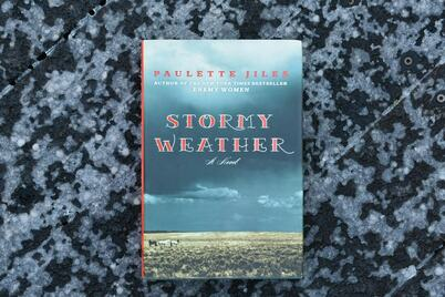 Stormy Weather by Paulette Jiles March book club read