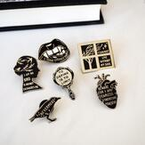 Gothic literature pins Go Beyond Book Club