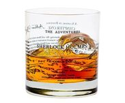 Sherlock Holmes glass on Go Beyond Book Club!