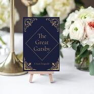Pride and Prejudice wedding place cards on Go Beyond Book Club
