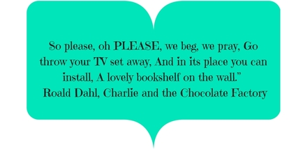 Charlie and the Chocolate Factory quote on start a kids book club on booknparty.com